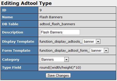 Editing Your Duplicated Adtool Type