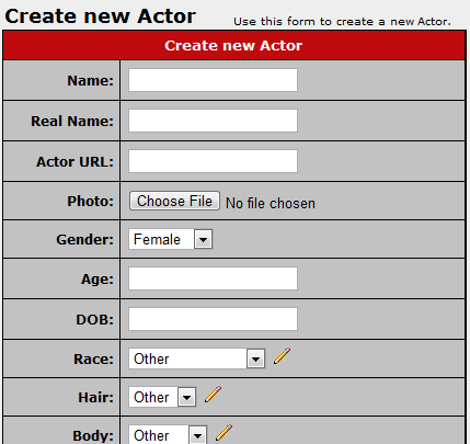 Creating a New Actor in CARMA