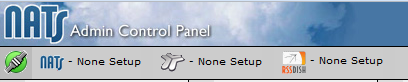 Admin Control Panel Icons