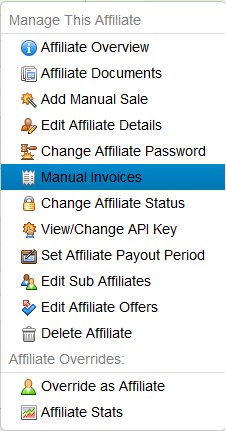 Manual Invoices Icon