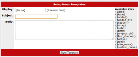 Creating Your Auto News Template in CARMA