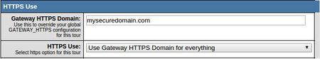 Gateway HTTPS Configuration Setting