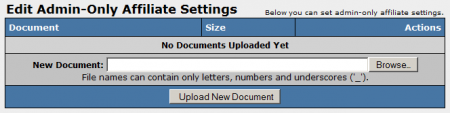 Uploading Documents in NATS