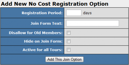 Creating a New NCR Join Option