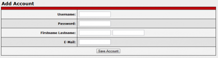 Adding New Accounts in CARMA
