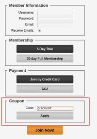 Customizing Your Join Page